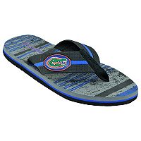 Men's Florida Gators Striped Flip Flop Sandals
