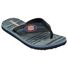 Men's Auburn Tigers Striped Flip Flop Sandals