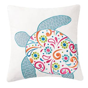 C&F Home St. Kitts Sea Turtle Throw Pillow