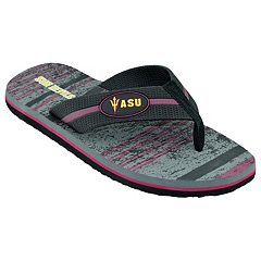 Men's Arizona State Sun Devils Striped Flip Flop Sandals