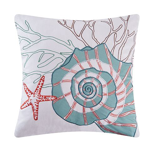 Tan C/&F Home Crab Pillow