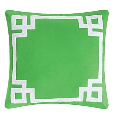 C&F Home Greek Key Throw Pillow