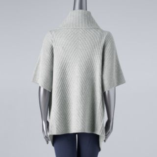 Plus Size Simply Vera Vera Wang Wrap-Up Flyaway Sweater