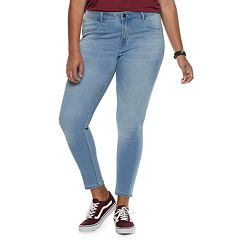 Juniors' Plus Size SO® Low-Rise Ultimate Jeggings