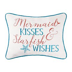C&F Home Mermaid Kisses Oblong Throw Pillow