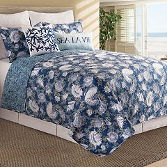 C&F Home Cape Coral Quilt Set
