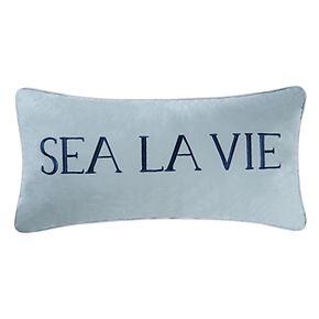 C&F Home Sea La Vie Oblong Throw Pillow