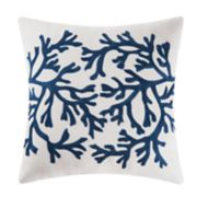 C&F Home Blue Coral Throw Pillow