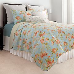 C&F Home Whitney Blue Quilt Set