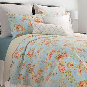 C&F Home Whitney Blue Quilt Set