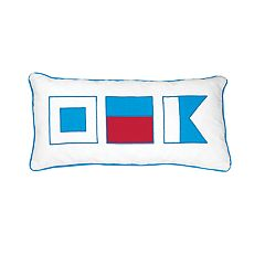 C&F Home Flags Oblong Throw Pillow