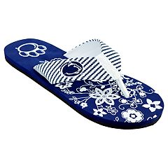 Women's Penn State Nittany Lions Floral Flip Flop Sandals