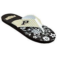 Women's Purdue Boilermakers Floral Flip Flop Sandals