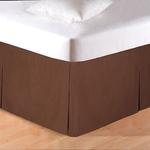 C&F Home Brown Bedskirt