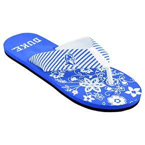 Women's Duke Blue Devils ... Floral Flip Flop Sandals uj0aP