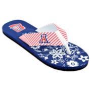 Women's Arizona Wildcats Floral Flip Flop Sandals