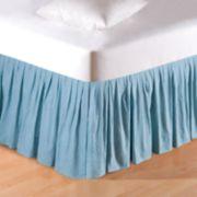 C&F Home Aegean Grid Bedskirt