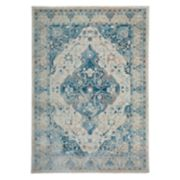 World Rug Gallery Versailles Distressed Floral Rug
