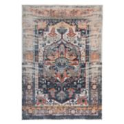 World Rug Gallery Versailles Distressed Medallion Rug