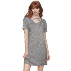 Women's Juicy Couture Crisscross T-Shirt Dress