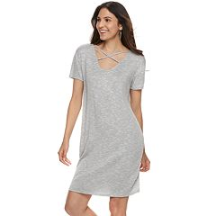 Women S Juicy Couture Crisscross T Shirt Dress