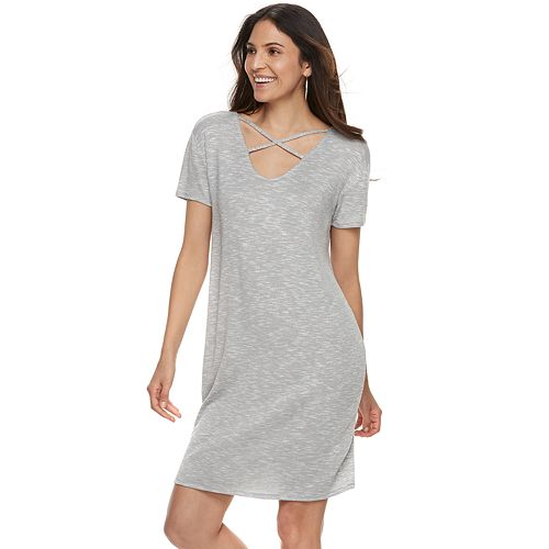 Women's Juicy Couture Crisscross T-Shirt Dress