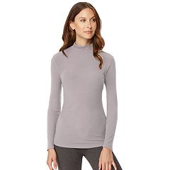 Women's HeatKeep Ribbed Mock Neck Top