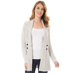 Women's Apt. 9® Button-Tab Cardigan