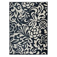 World Rug Gallery Vista Modern Floral Rug