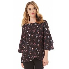 Women's Apt. 9® Tiered Tulip Hem Top