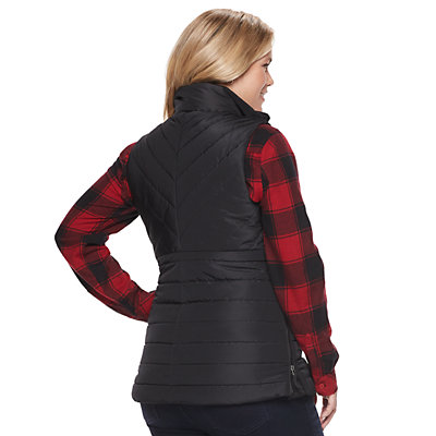 Maternity a:glow Puffer Vest