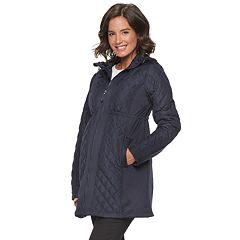 Maternity a:glow Lightweight Quilted Puffer Jacket