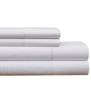 Pointehaven 450 Thread Count Dobby Cotton Sheet Set