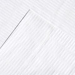Pointehaven 450 Thread Count Dobby Cotton 2-pack Pillowcases