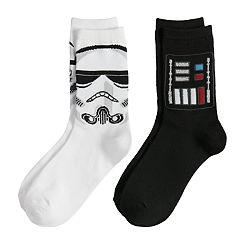 Boys 4-20 Star Wars 2-Pack Crew Socks