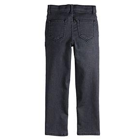 Boys 4-12 SONOMA Goods for Life? Comfort Knit Denim Straight Jeans