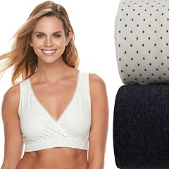 Playtex 2-Pack Nursing Sleep Bra US02PK