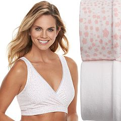 7261aeea92 Playtex 2-Pack Nursing Sleep Bra US02PK