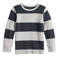 Boys 4-12 Jumping Beans® Striped Thermal Knit Top