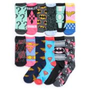 Women's DC Comics 12 Days Of Socks Advent Calendar Set