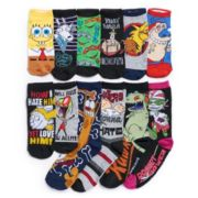 Women's Nickelodeon 12 Days Of Socks Advent Calendar Set