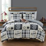 Sports Plaid Bedding Set