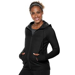 Petite Tek Gear® Hooded Fleece Jacket