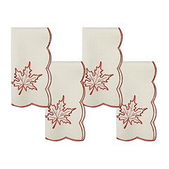 Celebrate Fall Together Pumpkin Cutout Napkin 4-pack