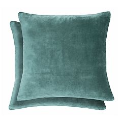 Spencer Home Decor Alexis Faux Suede 2-pack Throw Pillow Set