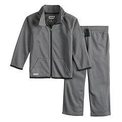 Toddler Boy Jumping Beans® Tricot Active Zip Jacket & Pants Set