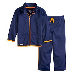 Toddler Boy Jumping Beans® Tricot Active Zip Jacket & Pants Set