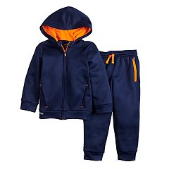 Toddler Boy Jumping Beans® Active Zip Hoodie & Jogger Pants Set