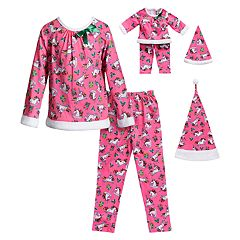 7de3c17b7 Girls Matching Doll Set Kids Sleepwear