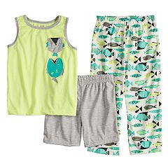 Boys 4-8 Carter's Fish 3-Piece Pajama Set